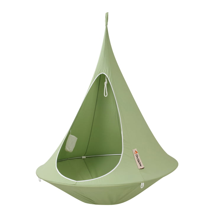 Cacoon - Single Hanging Chair, leaf green
