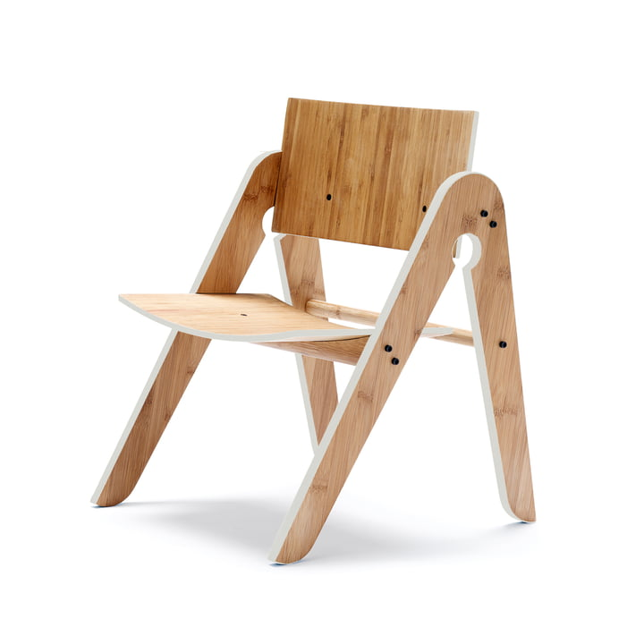 We do wood - Lilly's Chair , light grey