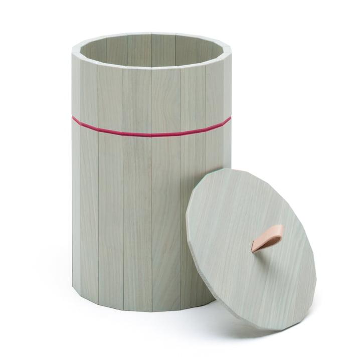 Karimoku New Standard - Colour Bin, large, pale green