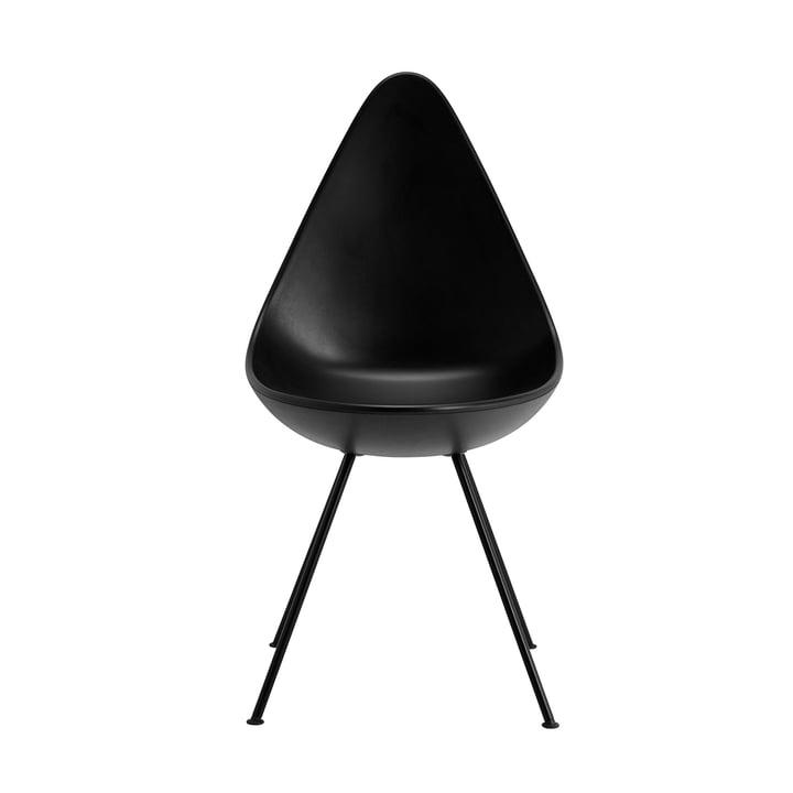 Fritz Hansen - Drop Chair, black