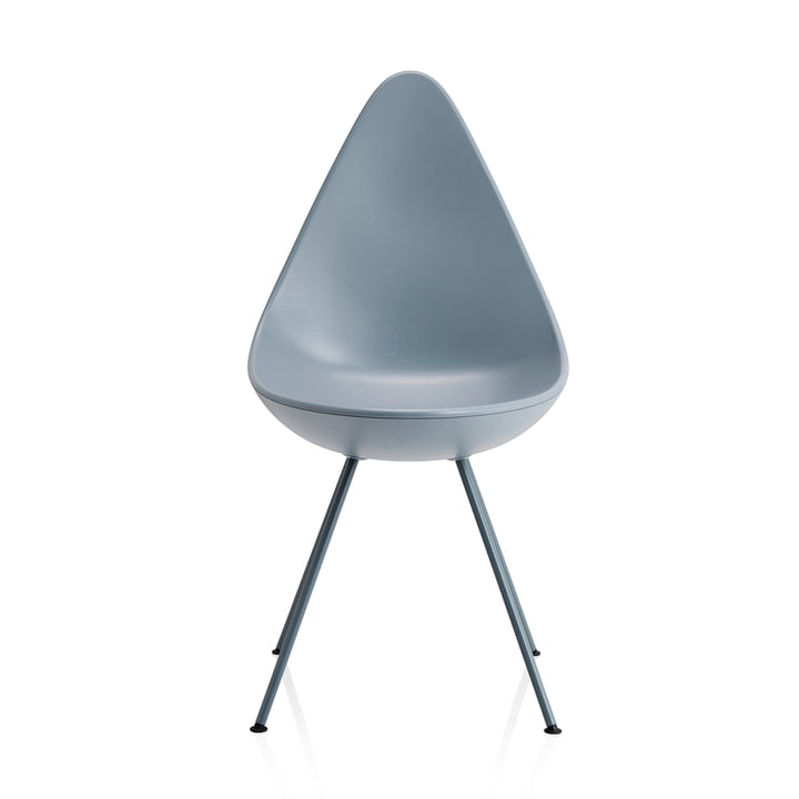 Fritz Hansen - Drop Chair, storm-blue