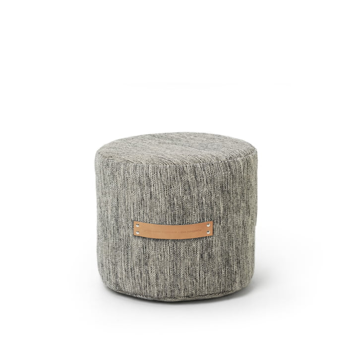 Design House Stockholm - Björk Stool H 35 Ø 45, light grey