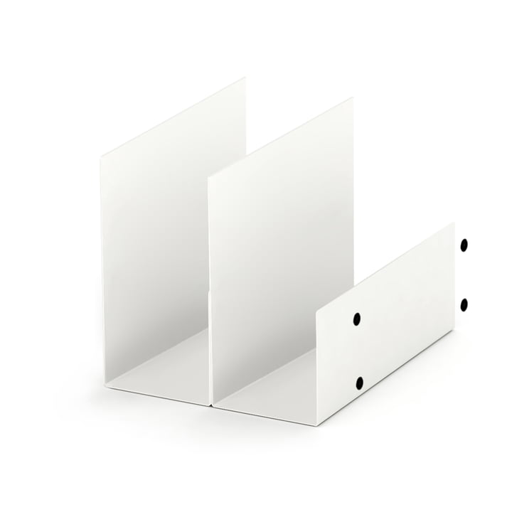 Konstantin Slawinski - El Shelf and 4 Magnets, white