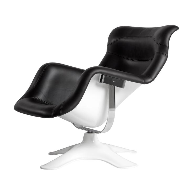 Artek - Karuselli Lounge Chair, black / white