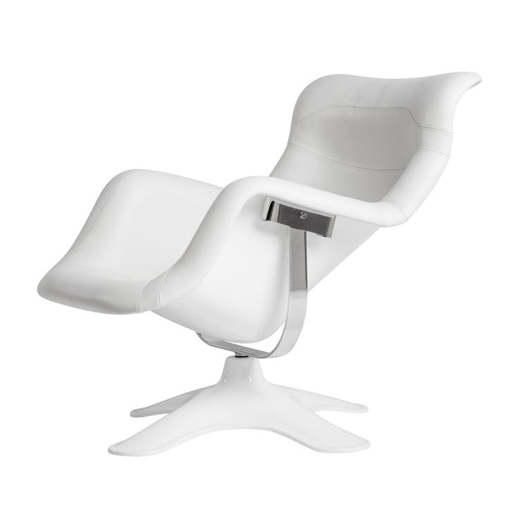 Artek - Karuselli Lounge Chair, white / white