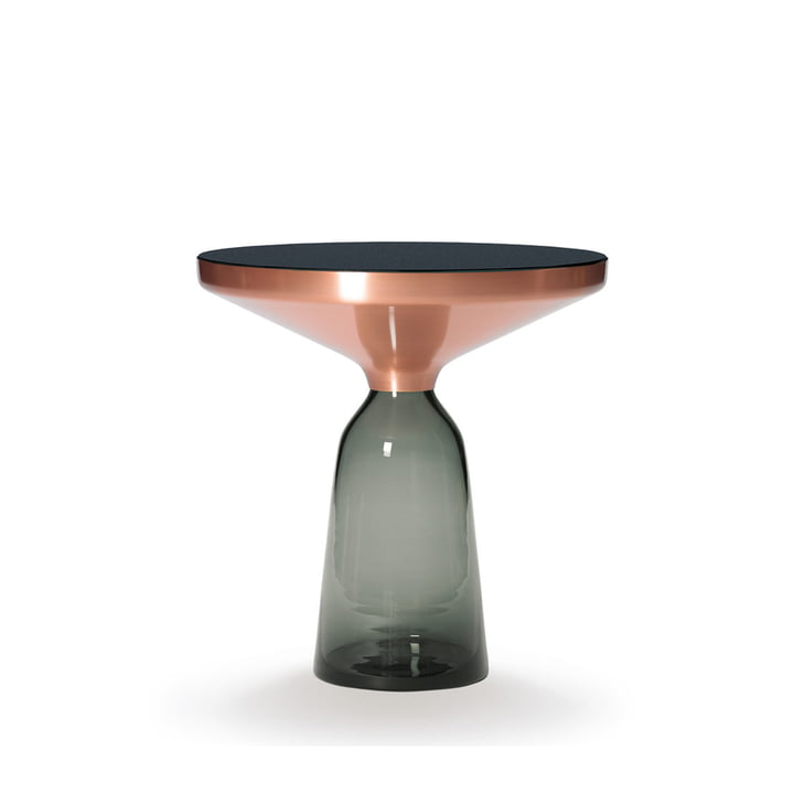 ClassiCon - Bell side table, copper / quartz grey