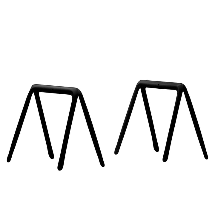 Zieta - Koza table trestles (set of 2), black