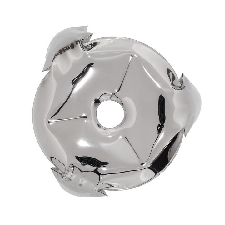 Zieta - Plopp Mini stool in silver