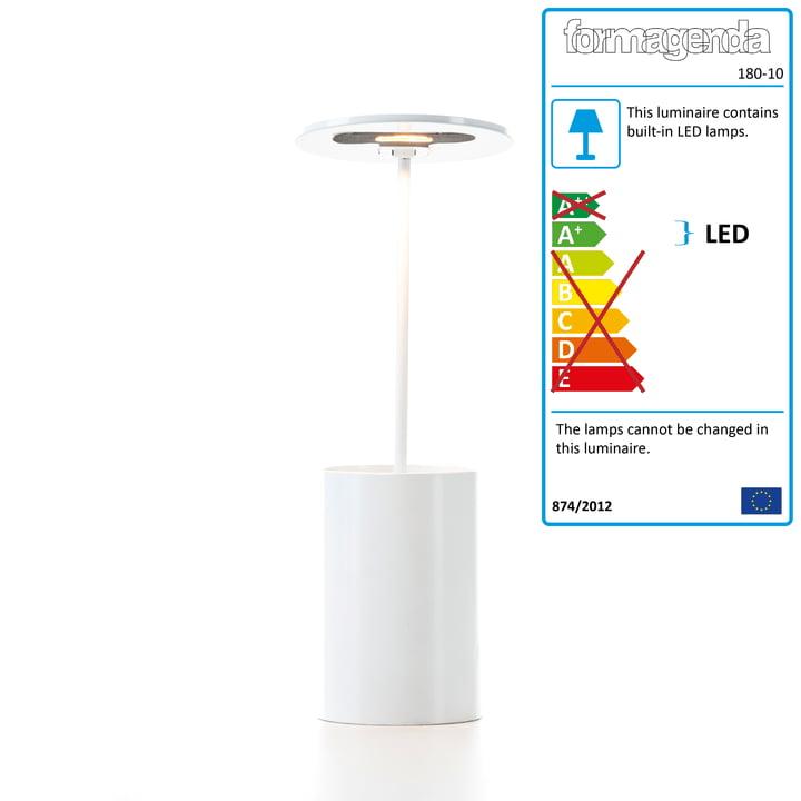 Formagenda - E.T. Table Lamp - white
