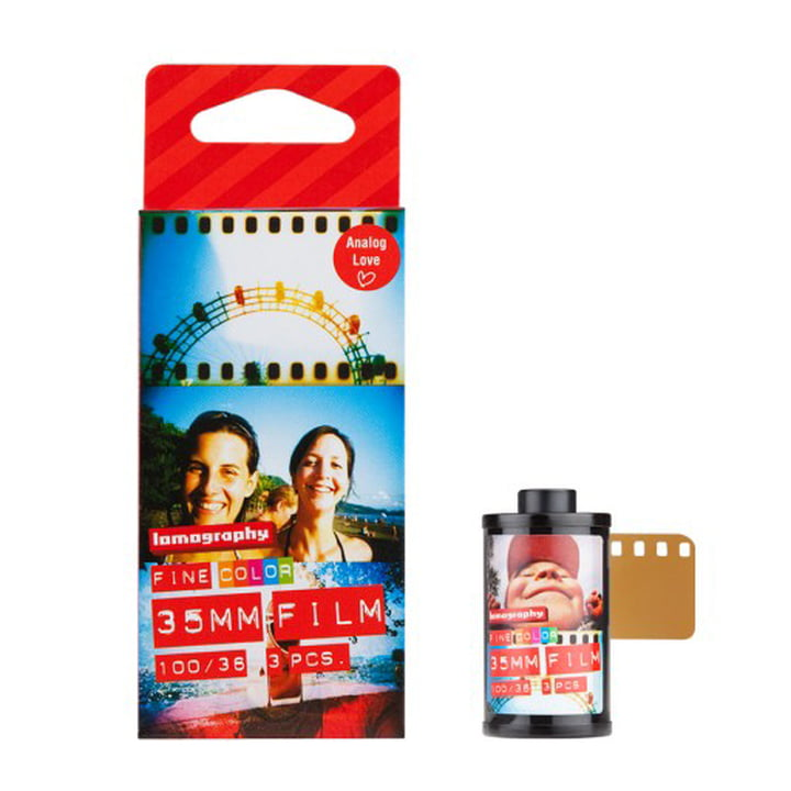 Lomography - 135 Colour Negative, 100 ISO - package with film