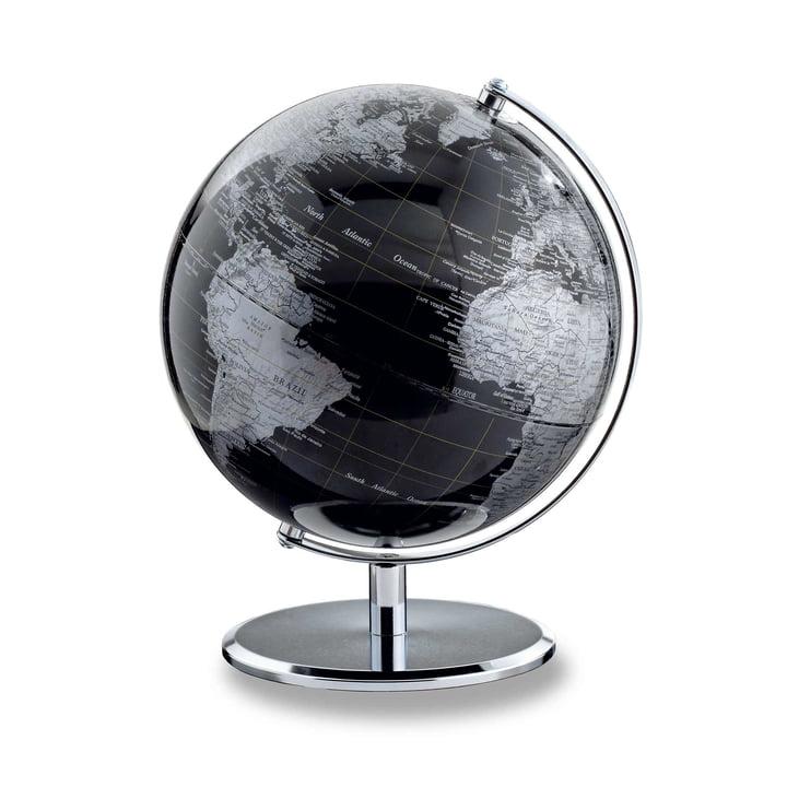 emform - Globe, dark chrome