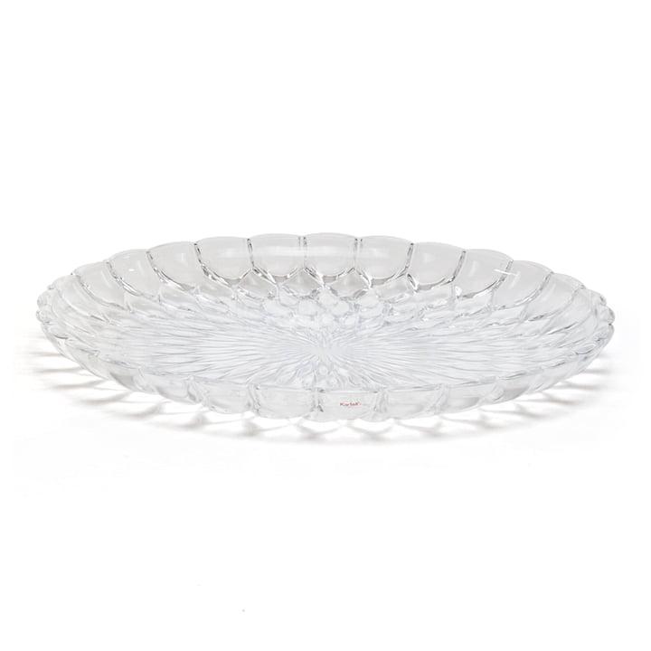 Kartell - Jelly Plate, transparent