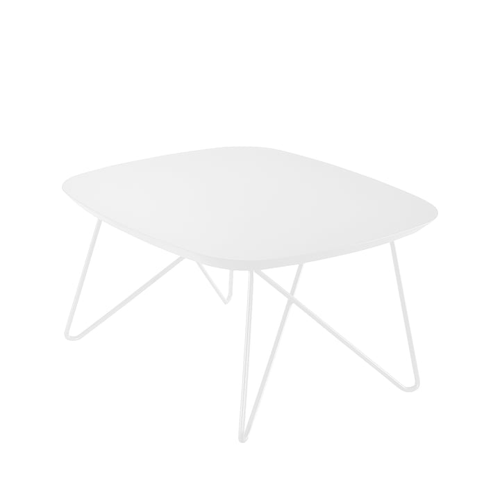 Zanotta - Ink side table, 60 x 60 cm, white