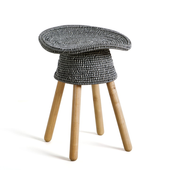Umbra - Coiled Stool, grey