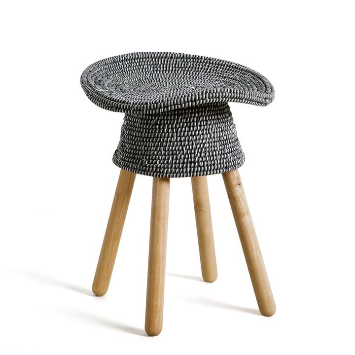 Umbra - Coiled Stool, grey
