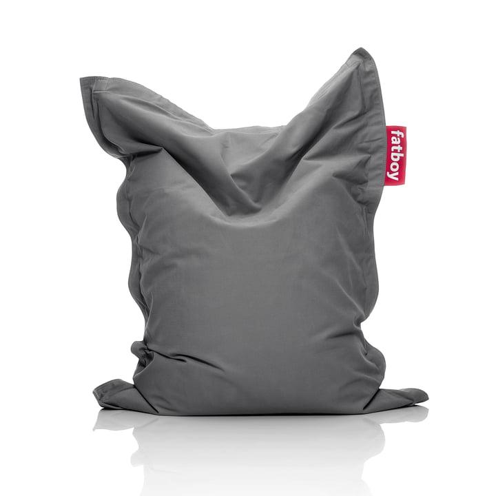 Junior beanbag Stonewashed, grey by Fatboy