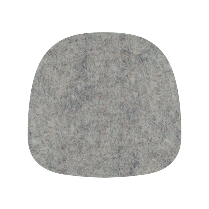 Hey Sign - Felt pad for About A Chair, bright mottled