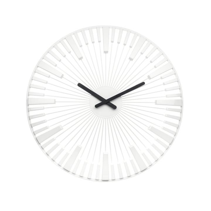 Koziol - Piano Wall Clock, white