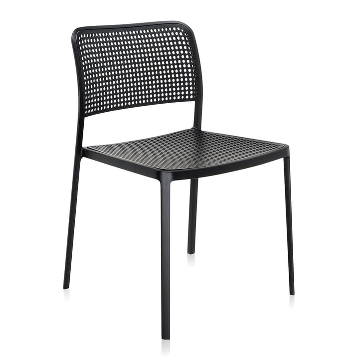 Kartell - Audrey Chair, without arm-rest, black / black