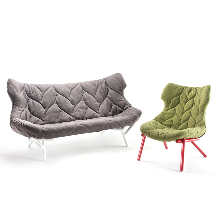 Kartell - Foliage Sofa and Armchair