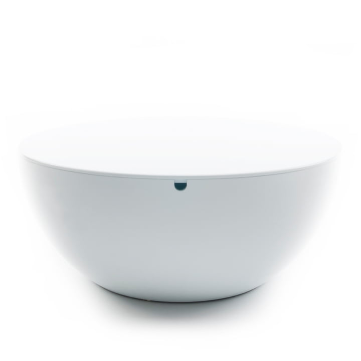 XLBoom - Slice Table with lid, white / white