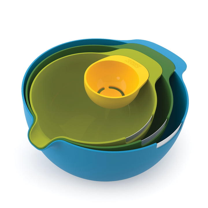 Joseph Joseph - Nest Mix (Set of 4), sideways top view