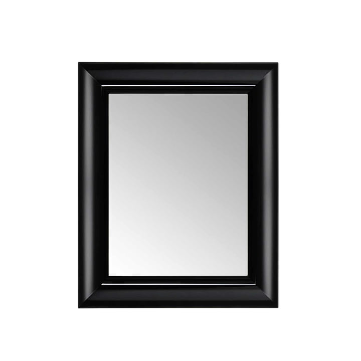 Kartell - François Ghost Mirror, small, black - front