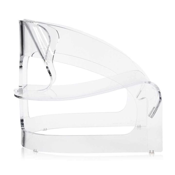 Kartell - Joe Colombo Armchair, transparent - lateral
