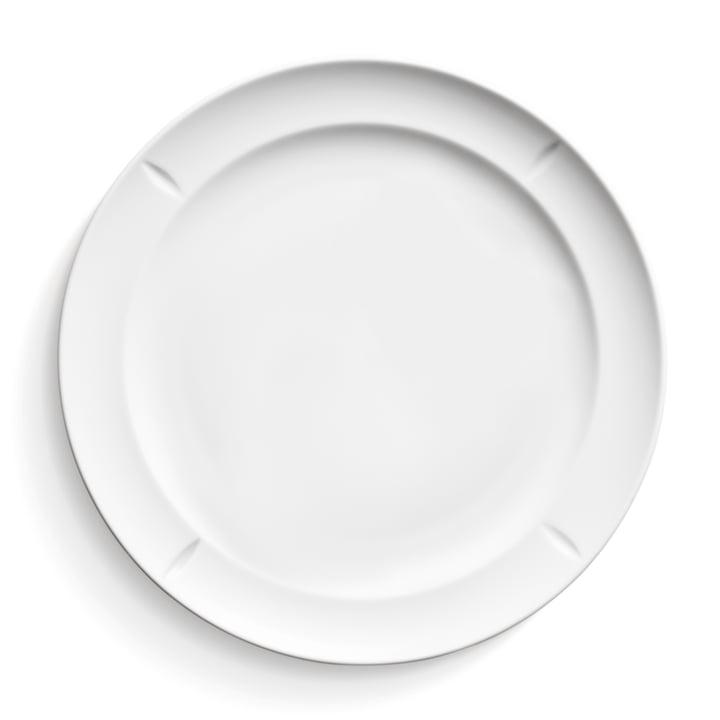 Rosendahl - Grand Cru Soft Plate, 27 cm, white
