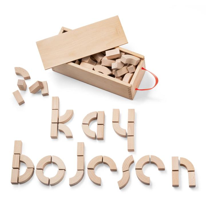 Kay Bojesen - Alphabet Wooden Bricks