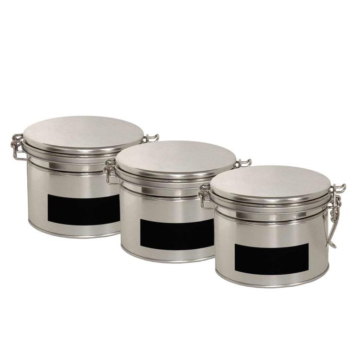 side by side - Tea tins, set of 3