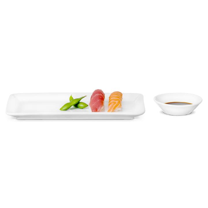 Rosendahl - Grand Cru Set: Plate and Bowl, rectangular