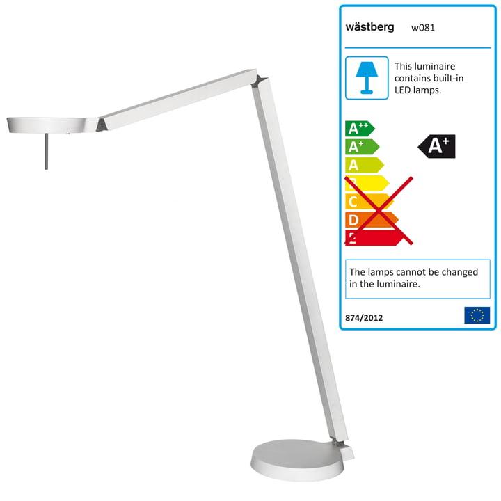 Wästberg - Claesson Koivisto Rune Floor Lamp w081f, white