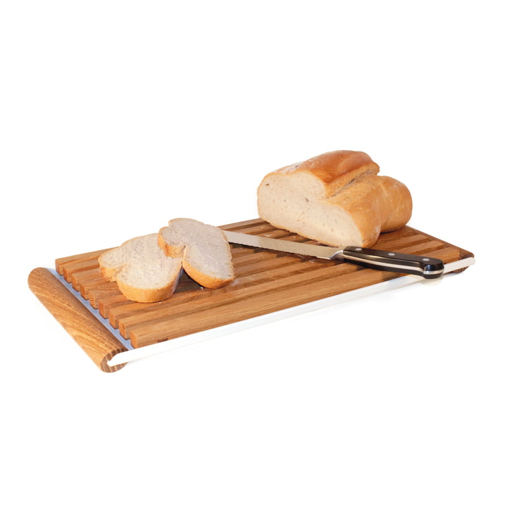 Design im Dorf - Kerrie Bread Serving Set with Tray M - with bread
