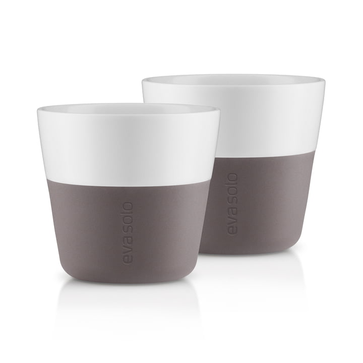 Caffé Lungo cups (set of 2) by Eva Solo in gray
