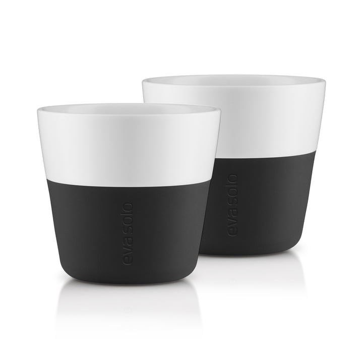 Caffé Lungo cups (set of 2) by Eva Solo in black