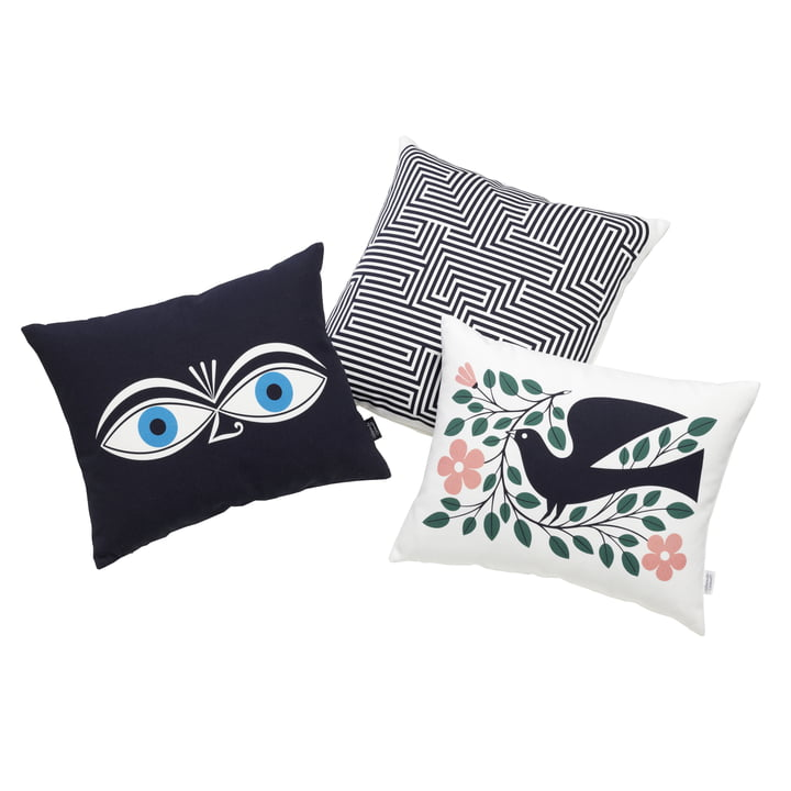 Catalogue image: Vitra - Graphic Print Pillow - Dove