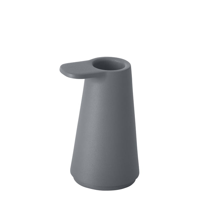 Muuto - Grip Candle Holder, anthracite