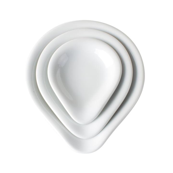 Kahla - Magic Grip Lid- / Dip-Set, 3 pieces, white
