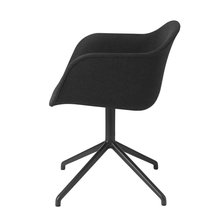Muuto - Fiber Chair - Swivel Base, Remix 183