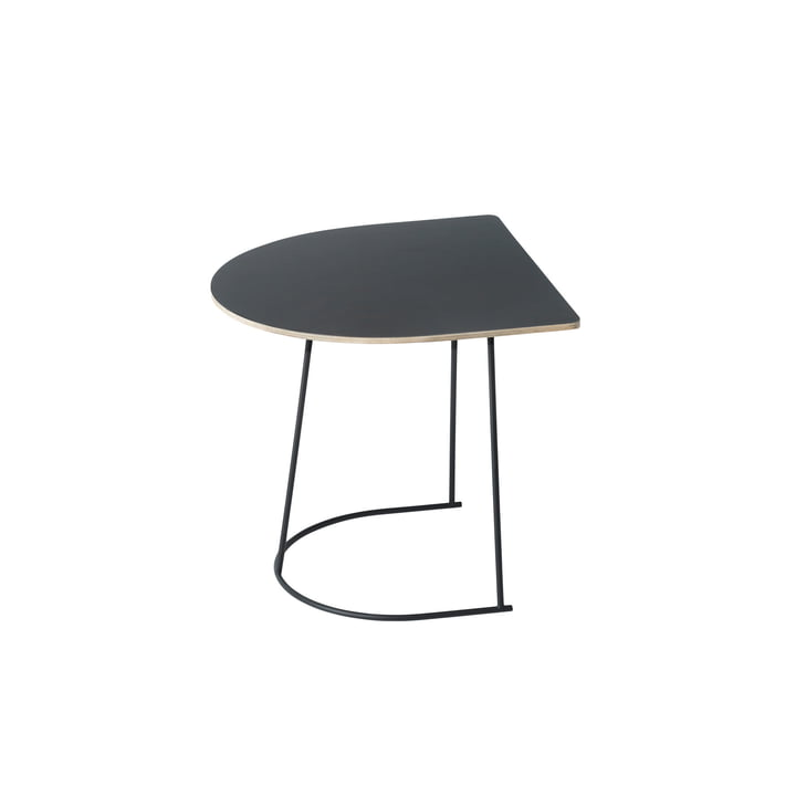 Muuto - Airy Coffee Table, Half Size, black