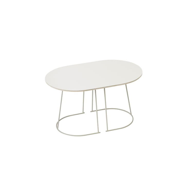 The Airy Coffee Table, small in white by Muuto