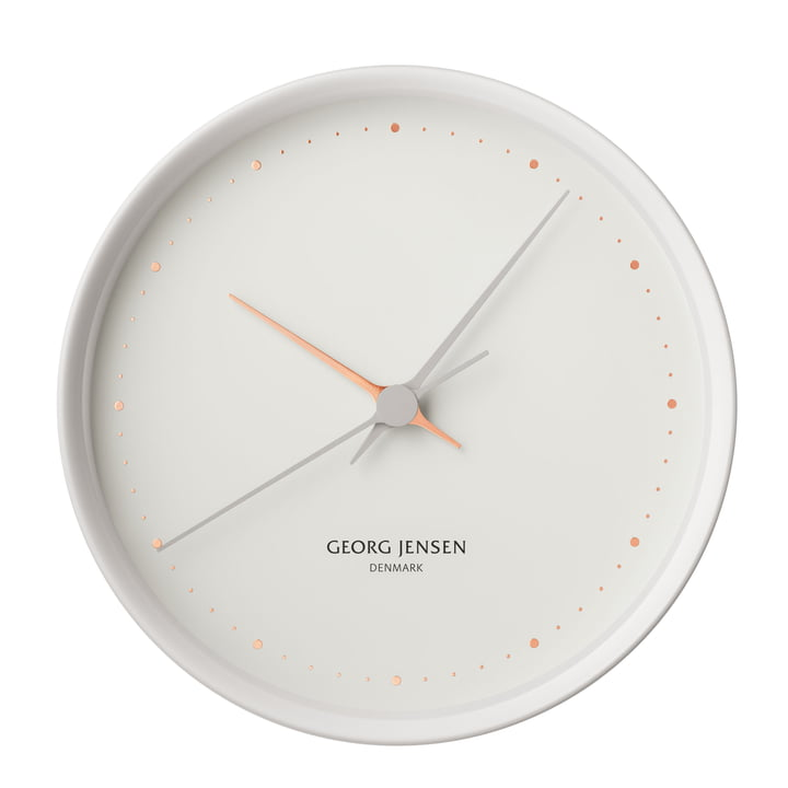 Georg Jensen - Henning Koppel Clock Graphic Ø 22 cm, white