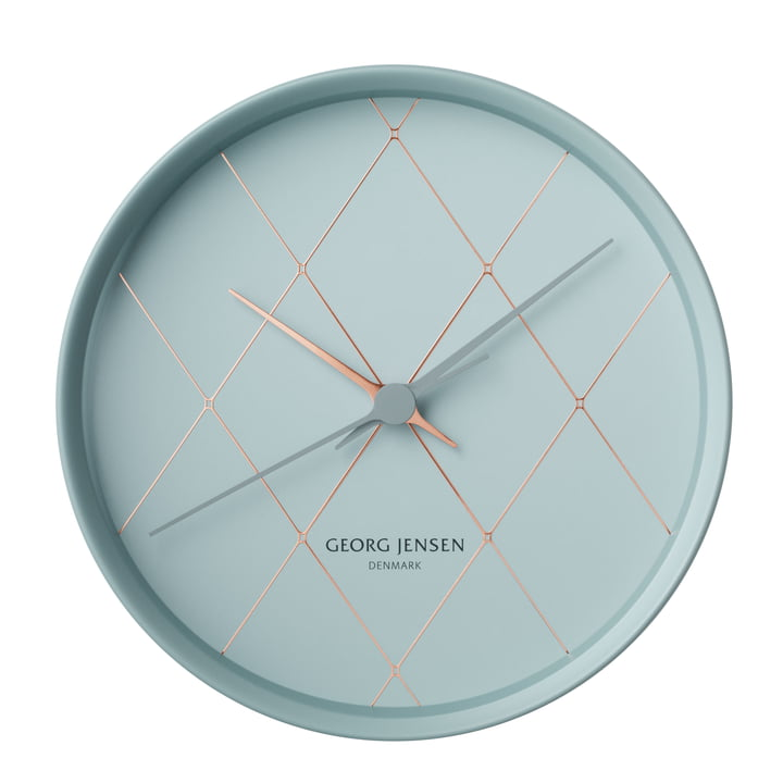 Georg Jensen - Henning Koppel Clock Graphic Ø 22 cm, harlekin