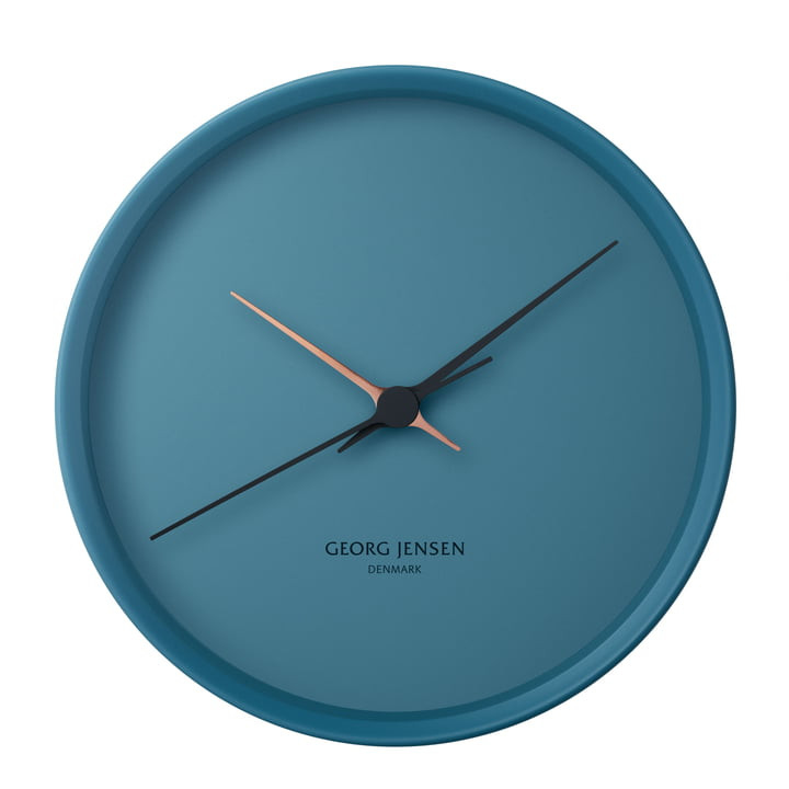 Georg Jensen - Henning Koppel Clock Graphic Ø 22 cm, blue