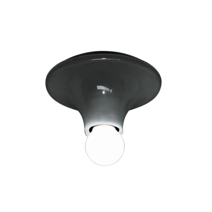 Artemide - Teti Wall and Ceiling Luminaire, anthracite
