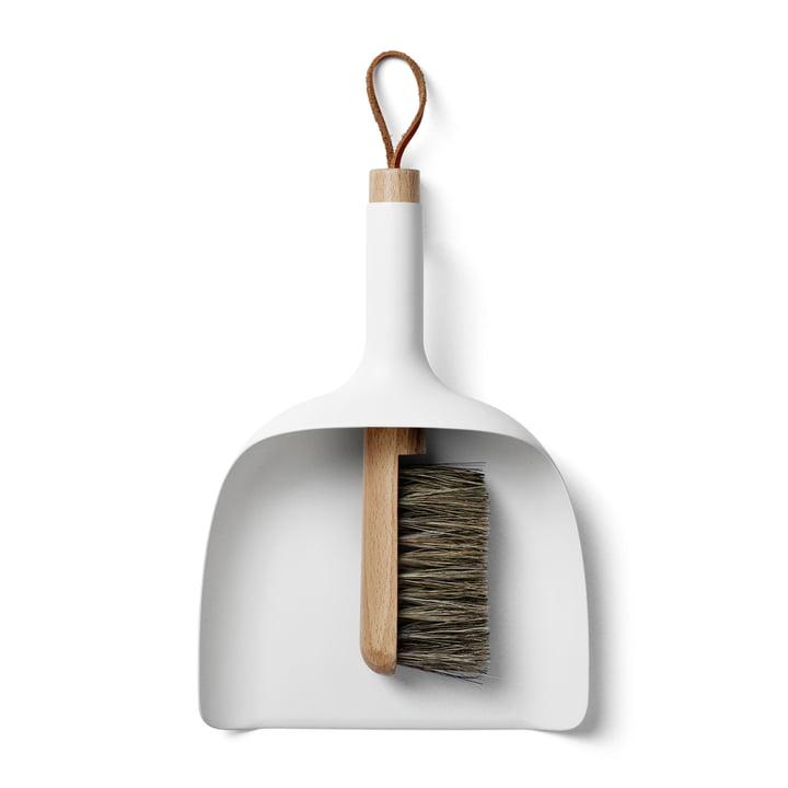 Menu - Hand-brush and Dustpan, white
