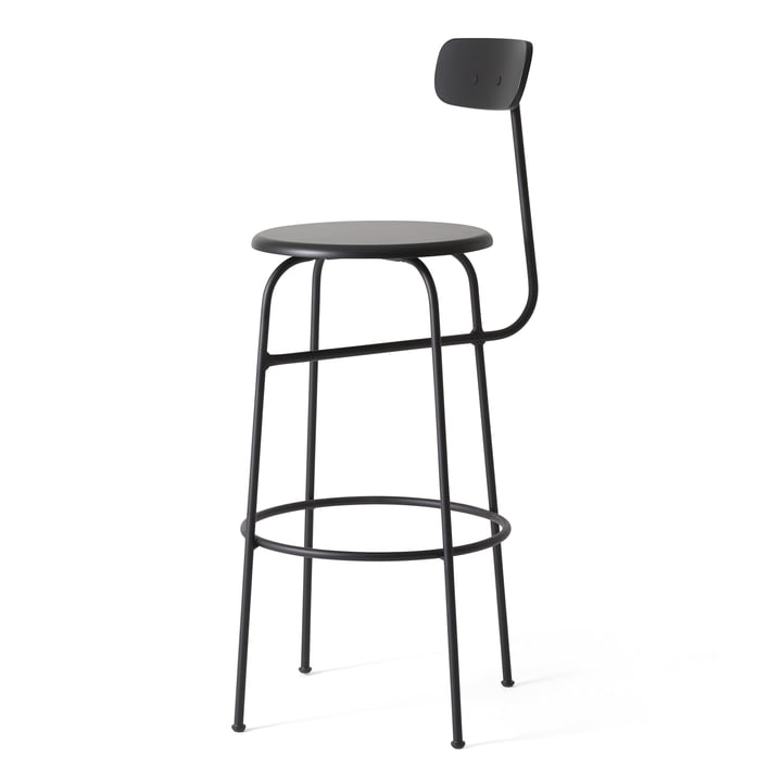 Menu - Afteroom Barstool, black