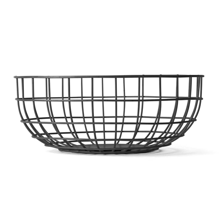 Menu - Norm Wire Bowl, black