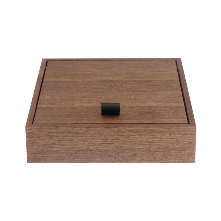Schönbuch - Hesperide Beautybox, Walnut / leather loop black
